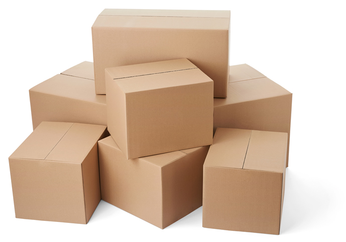 Boxes for delivery